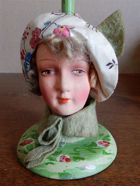 pixie faces in flapper hats 17 best images about elegant boudoir dolls half dolls on