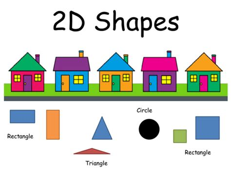shape house 2d shapes houses presentation by smandie123 teaching