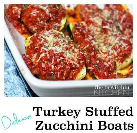 paleo turkey stuffed zucchini boats 30 grain free recipes that are delightfully delicious