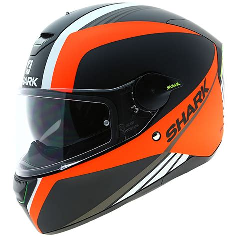 orange shark shark skwal spinax matt black orange white