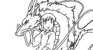the gallery for gt spirited away coloring page