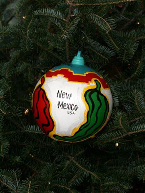 ornaments representing new mexico