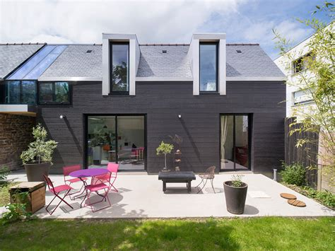 Tuiles Au Sésame by Clemente Bacle Architecte Extends House In Rennes