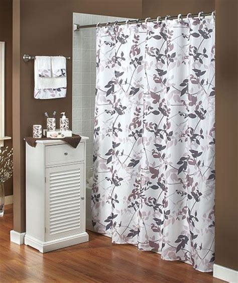 20 pc complete bathroom set shower curtain towels sink