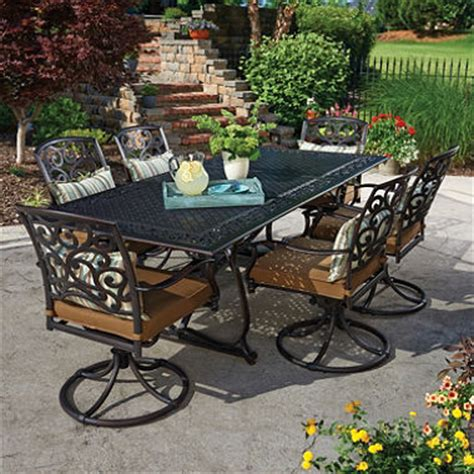patio cast aluminum patio dining sets home interior design