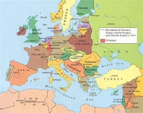 Records Before 1919 Map Of Europe After World War 1 Quotes