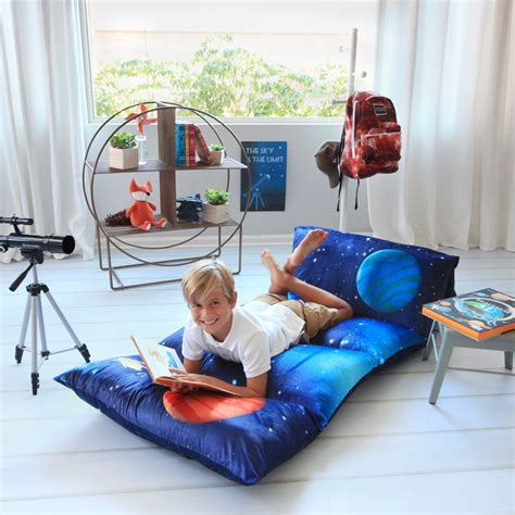 kid s floor pillow bed cover use as nap mat portable toddler bed or