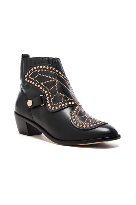 butterfly boots webster butterfly boots in black fwrd