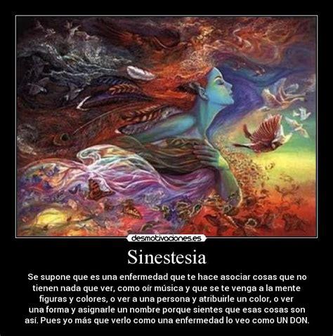 imagenes sensoriales y sinestesia im 225 genes y carteles de sinestesia desmotivaciones