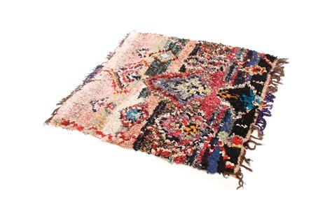 teppich 140 x 160 marokkanischer berber teppich boucherouite 160 x 140 cm