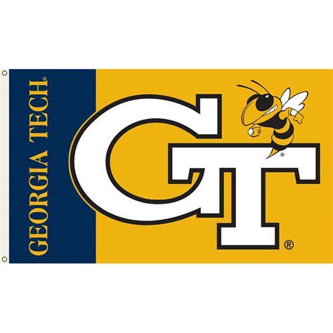 game design georgia tech georgia tech yellow jackets 3ft x 5ft team flag logo design