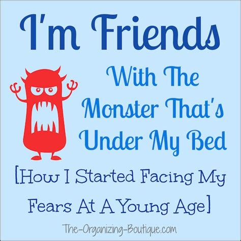 friends with the monster under my bed i m friends with the monster under my bed how to