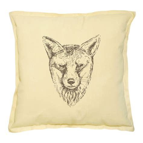 Different Pillows by Different Animals Printed Decorative Pillows