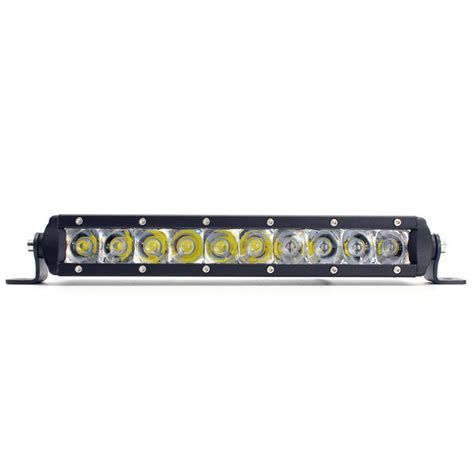 Led Bar Lights Offroad 50w Cree 11 12inch Single Row Led Light Bar Spot Offroad Jeep Suv Boat Bumper Ebay