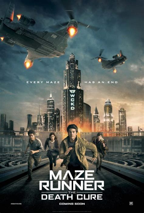 the maze runner movie poster fan made the maze runner maze runner the death cure gets a new poster