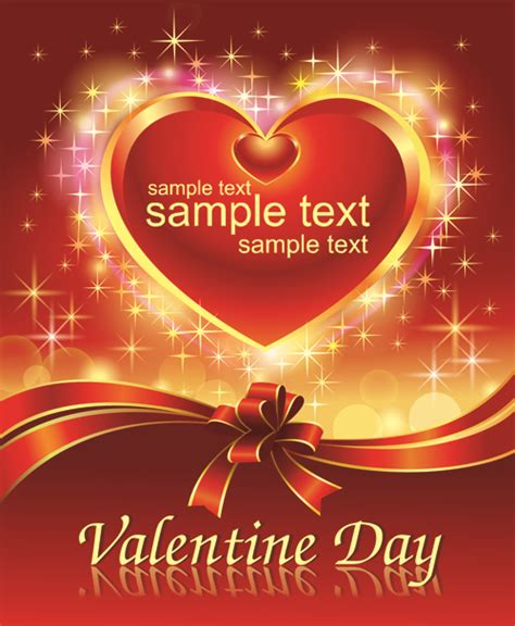 download themes valentine day romantic valentine day theme background vector 05 vector