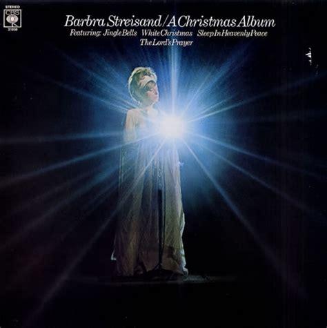 barbra streisand xmas album barbra streisand a christmas album www platenkopen nl