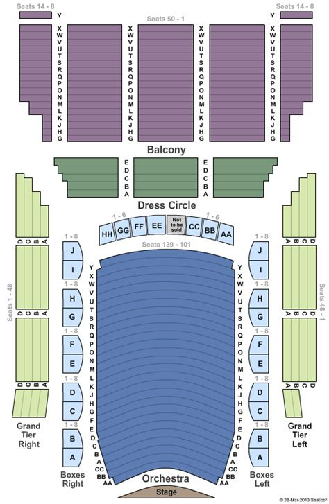 lyric opera house baltimore lyric opera house md seating chart
