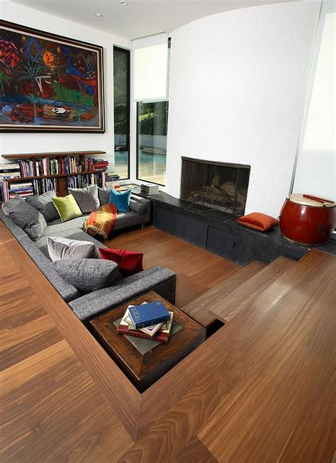 living room pit 25 best ideas about conversation pit on miller house architect saarinen and lounge