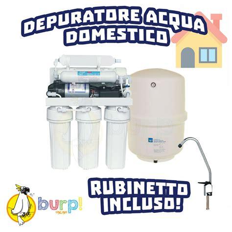 filtro depuratore acqua rubinetto depuratore acqua osmosi inversa accumulo sottolavello