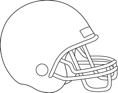 Football Helmet Outline Profile by I My Classroom January 2013
