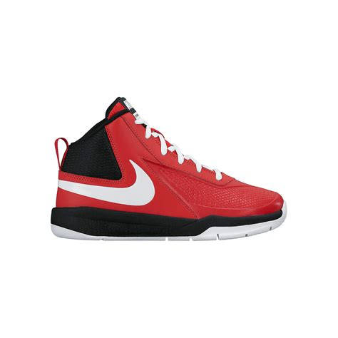 boys basketball shoe nike basketball shoes boys team hustle