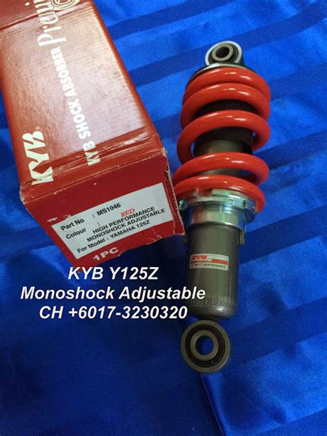 Gear Set Megapero Monoshocck Original Ahm ch motorcycle store kyb y125z monoshock adjustable
