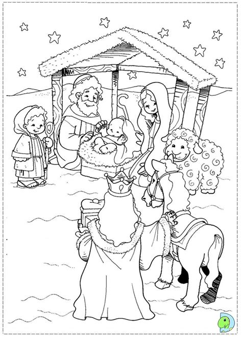 nativity manger colouring new calendar template site free number sixteen coloring pages