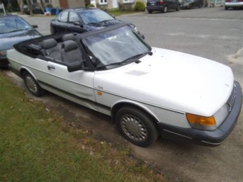 1991 white convertible 24 900 buy or sell classic buick reatta coupe or convertible purchase used 1991 saab 900s convertible in waterbury connecticut united states