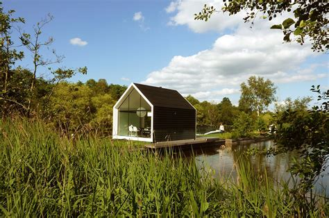 Shed Style Homes contemporary tiny house on an island by 2by4 architects