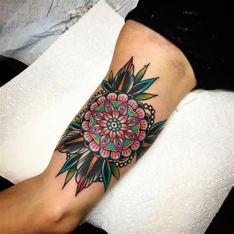 christian kirk tattoo 18 exquisite geometric flower tattoos tattoodo