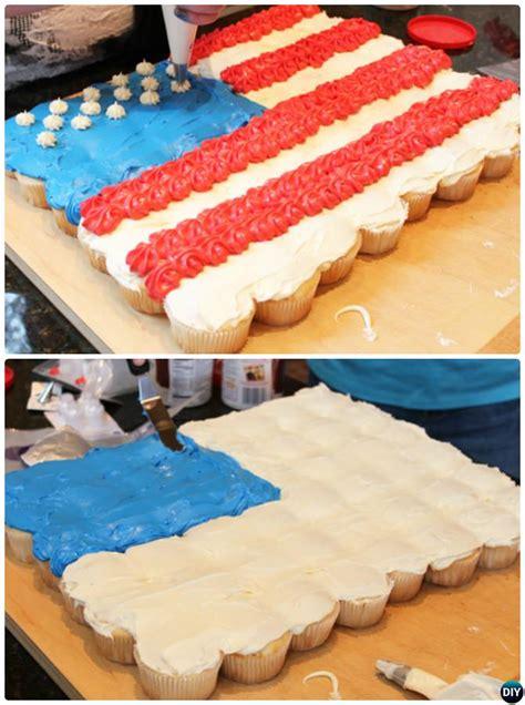 diy pull  cupcake cake designs tutorials