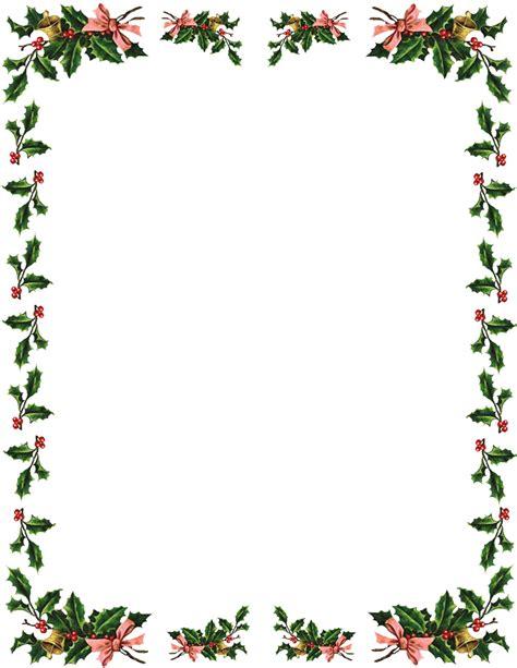 Pics photos christmas clip art borders free