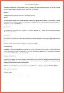 It Executive Summary Template by It Executive Summary Template