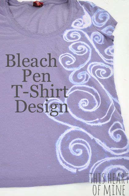 design t shirt with bleach bleach pen t shirt design