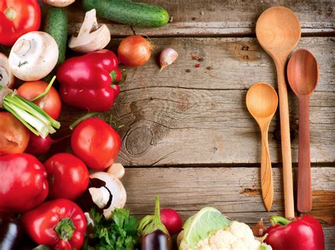 new year 7 vegetables fresh vegetables on the wooden table wallpaper 5000x3745
