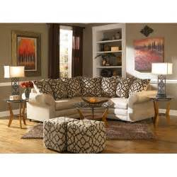 espresso living room furniture aaron s espresso ii living room collection 2 piece sectional ottoman 2 end tables 2 ls