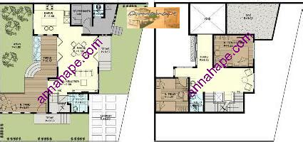 contoh denah rumah layout annahape studio desain rumah kontak rumah web dwiyokos