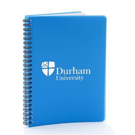 Green Recycled Polypropylene A5 Wiro Notebook - a5 polyprop wiro notebook blue at durham
