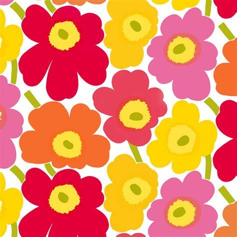 marimekko stoffe marimekko pieni unikko wallpaper unikko flowers from