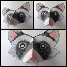 printable weasel mask masketeers printable masks printable ferret weasel