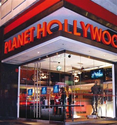 planet hollywood, london st. james's restaurant