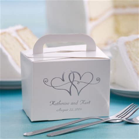 Wedding Box Cake by Wedding Cake Boxes For Guests Take Home Wedding Cake Box
