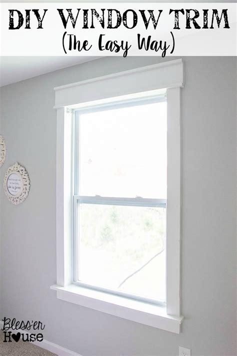 adding a window to a house diy window trim the easy way