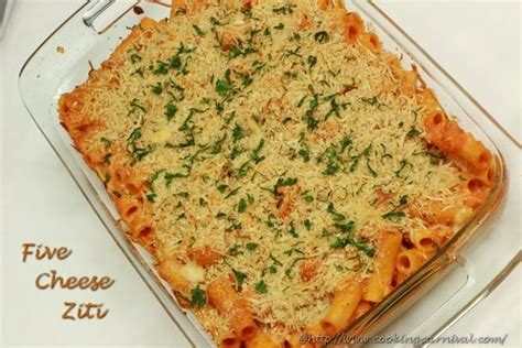 5 cheese olive garden five cheese ziti cookingcarnival