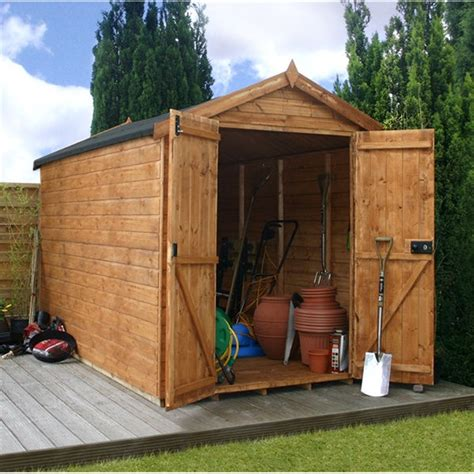 Windowless Shed by 10 X 6 Windowless Premier Tongue And Groove Apex Shed