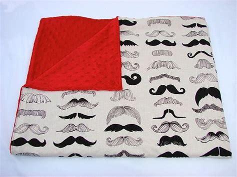 mustache bedding baby bedding mustache mania blanket