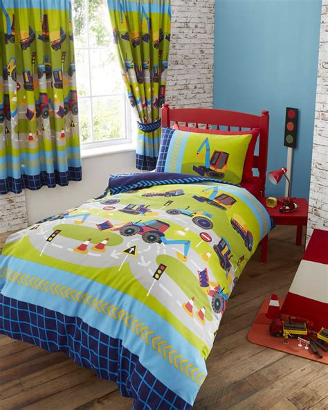 Digger Duvet Cover Kids Club Diggers Duvet Cover Set Double Shoplinens Ie