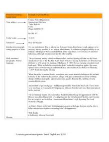 how to write a formal letter format sle
