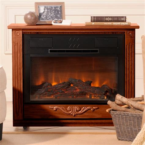 Roll N Glow Fireplace by Heat Surge Roll N Glow Amish Fireplace With Led And